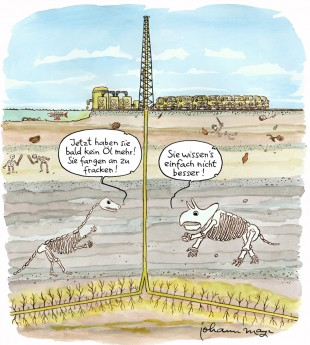 Fracking – fossil getönter Jahresrückblick 2013