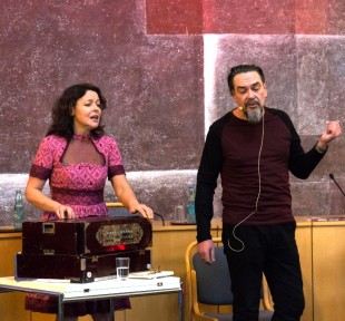 Juri Andruchowytsch und Mariana Sadovska