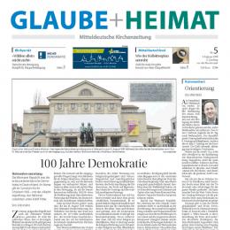 Glaube + Heimat, Artikel Udo Hahn