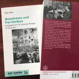 """Johannes Hempel Udo Hahn, Buch """"Annehmen und freibleiben"""""""